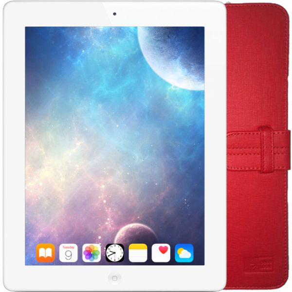 Apple iPad 2nd Gen 16GB 9.7 Display WiFi Only Tablet PC White + FREE CaseLogic iPad Case-Daily Steals