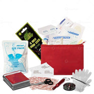Zone Tech 2-in-1 Travel First Aid Kit-Daily Steals