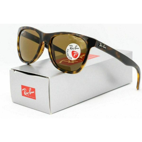 Daily Steals-Ray-Ban RB4184 710/83 Polarized Sunglasses Havana Tortoise/Brown Classic-Accessories-