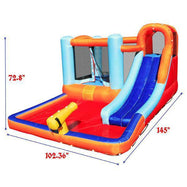 Daily Steals-Giant Inflatable Bounce Castle with Trampoline and Pool-Outdoors and Tactical-