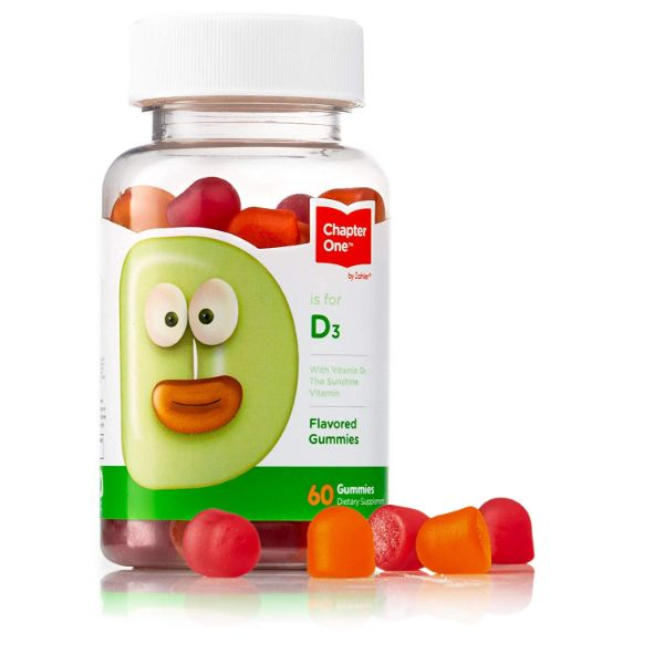 update alt-text with template Daily Steals-Chapter One Vitamin D3 Gummies 1000IU, Supports Healthy Bones, Muscles, and Immunity - 2 Pack-Health and Beauty-