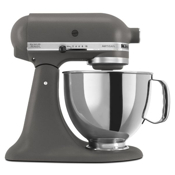 KitchenAid Artisan Series 5-Qt. Stand Mixer with Pouring Shield - 6 Colors-Imperial Grey-Daily Steals