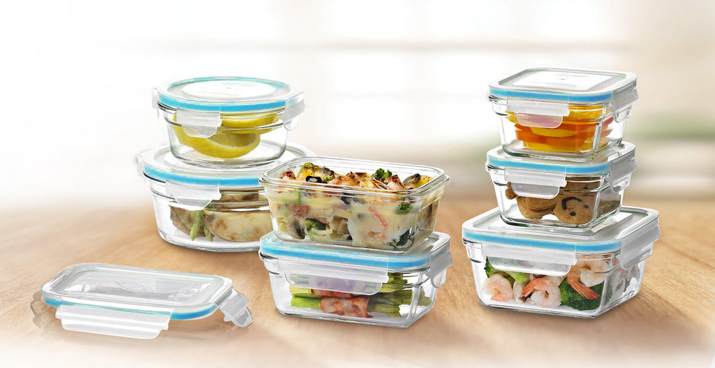 Daily Steals-GlassFresh Food Storage Container Set with Locking Lids-Kitchen Essentials-