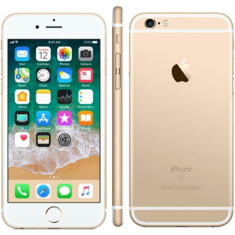 Apple iPhone 6S Plus 16GB Factory Unlocked with Apple EarPods-Gold-Daily Steals