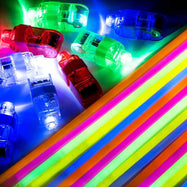 Glow Sticks and LED Finger Lights - 140 Pack-Daily Steals
