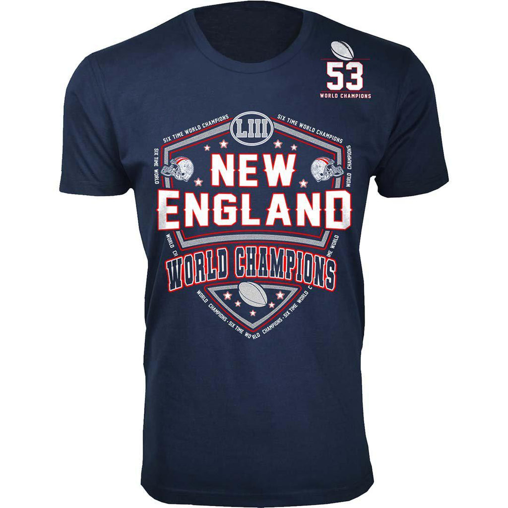 Football Champions New England T-shirts - Mens and Womens Options-S-Men - Shoulder 53-Daily Steals