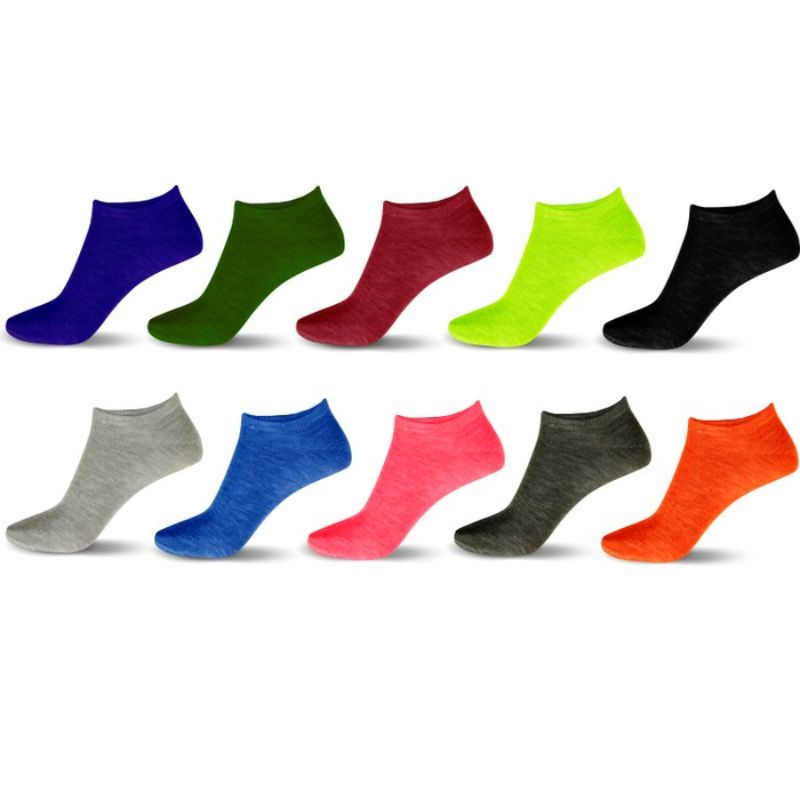 20-Pair Mystery Deal: Women's No-Show Ankle Socks-Daily Steals