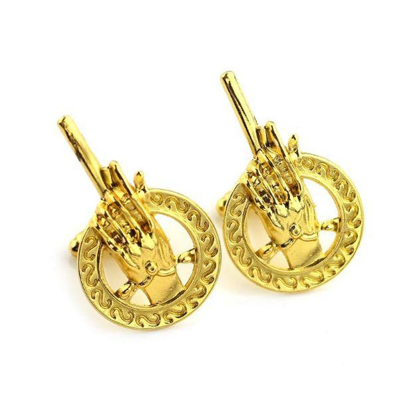 Hand of The King Cuff Links-Gold-Daily Steals