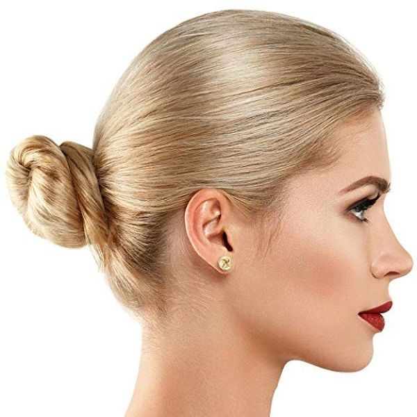 Twist Stud Earrings-Daily Steals