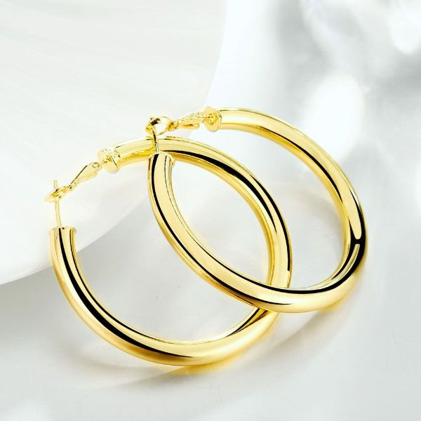 Tube Hoop Earrings-Daily Steals