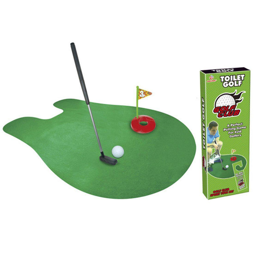 Mini Potty Putter Golf Set for Bathroom, Bedroom or Office-Daily Steals
