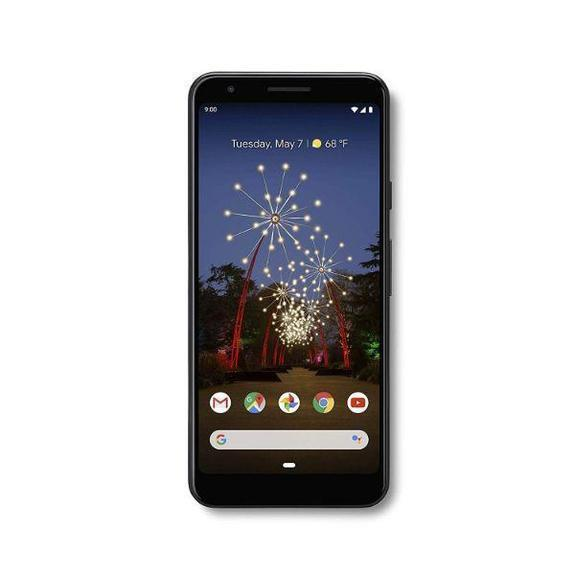 Daily Steals-Google Pixel 3a og 3a XL med 64 GB hukommelses mobiltelefon (ulåst) -Cellphones-Just Black-3a-