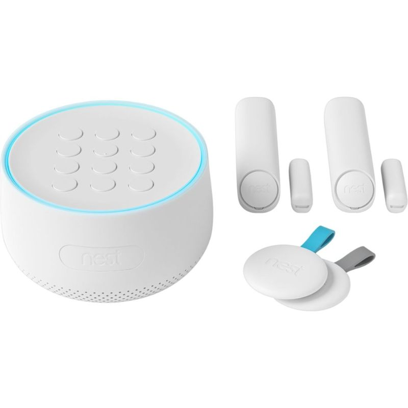 Google Nest Secure Alarm System - White-Daily Steals