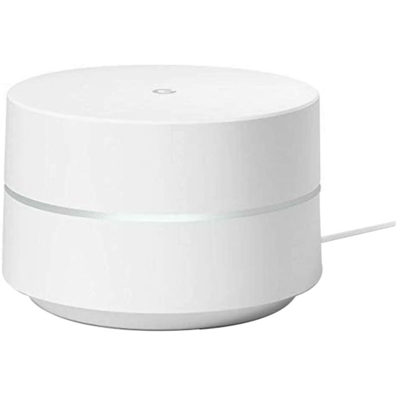 Google WiFi System, Router Replacement for Whole Home Coverage - White