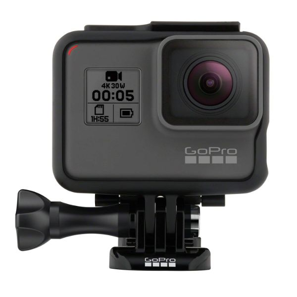 GoPro HERO5 Black — Waterproof Digital Action Camera for Travel with Touch Screen 4K HD Video 12MP Photos-Daily Steals