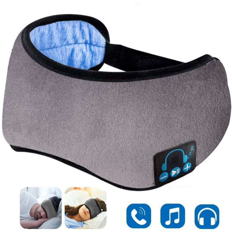 2N1 Wireless Music Eye Mask-Gray-Daily Steals