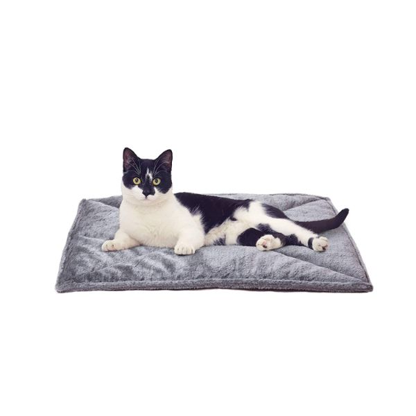 FurHaven ThermaNAP Self Warming Heating Pet Mat-Gray-Daily Steals