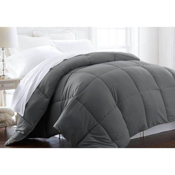 Home Collection All-Season Premium Down Alternative Comforter-Gray-Twin-Daily Steals