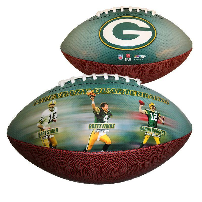 Green Bay Packers Legendary Quarterbacks - Sports Memorabilia Football-Daily Steals