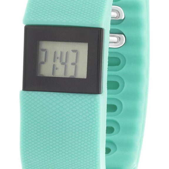 Everlast Digital Activity - Tracking Pedometer Watch-Turquoise-Daily Steals