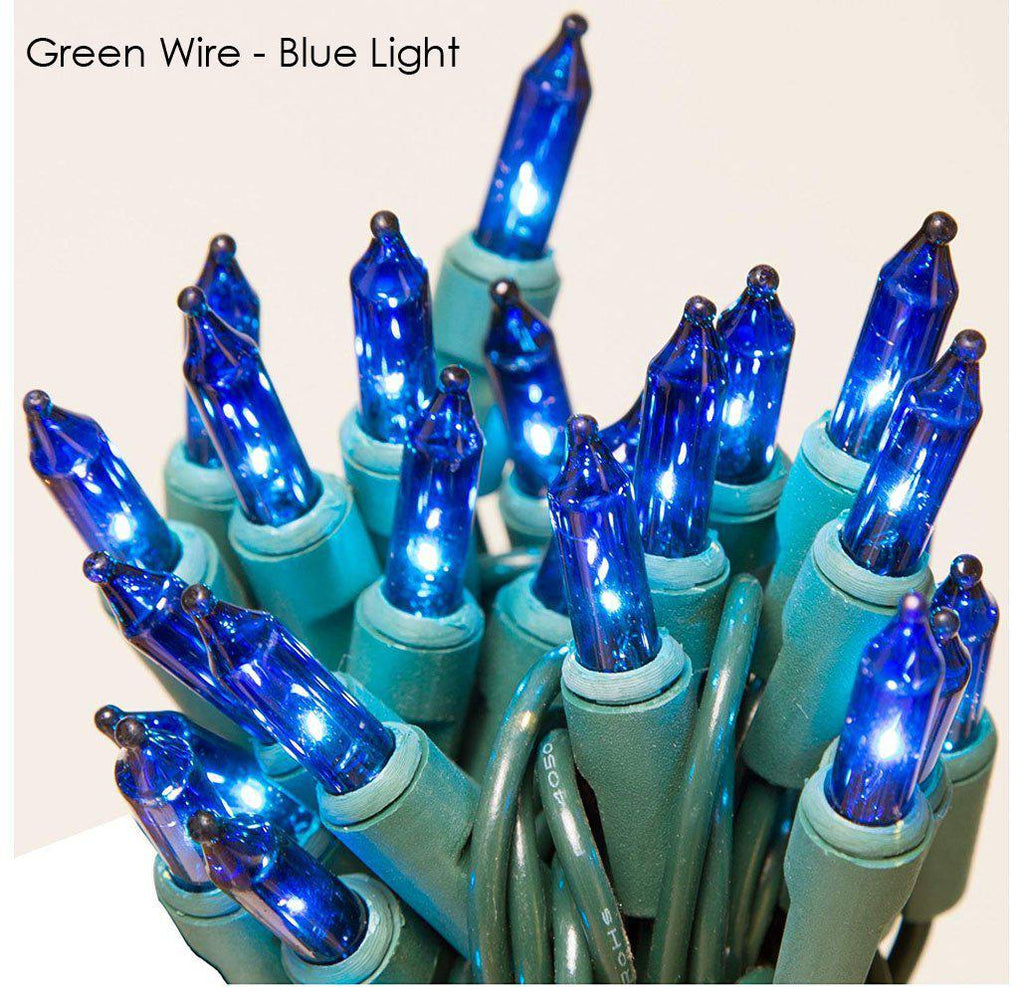 update alt-text with template Daily Steals-Holiday Essence 100-Count Christmas Light Set-Home and Office Essentials-Green wire/blue light-