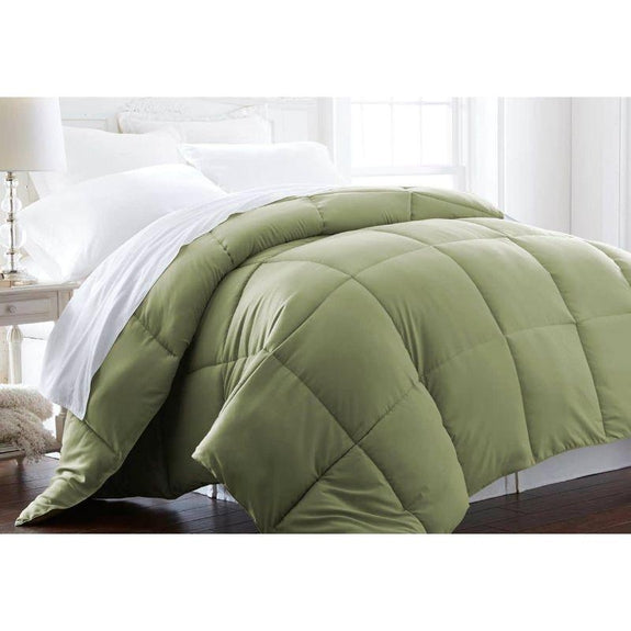 Home Collection All-Season Premium Down Alternative Comforter-Sage-Twin-Daily Steals