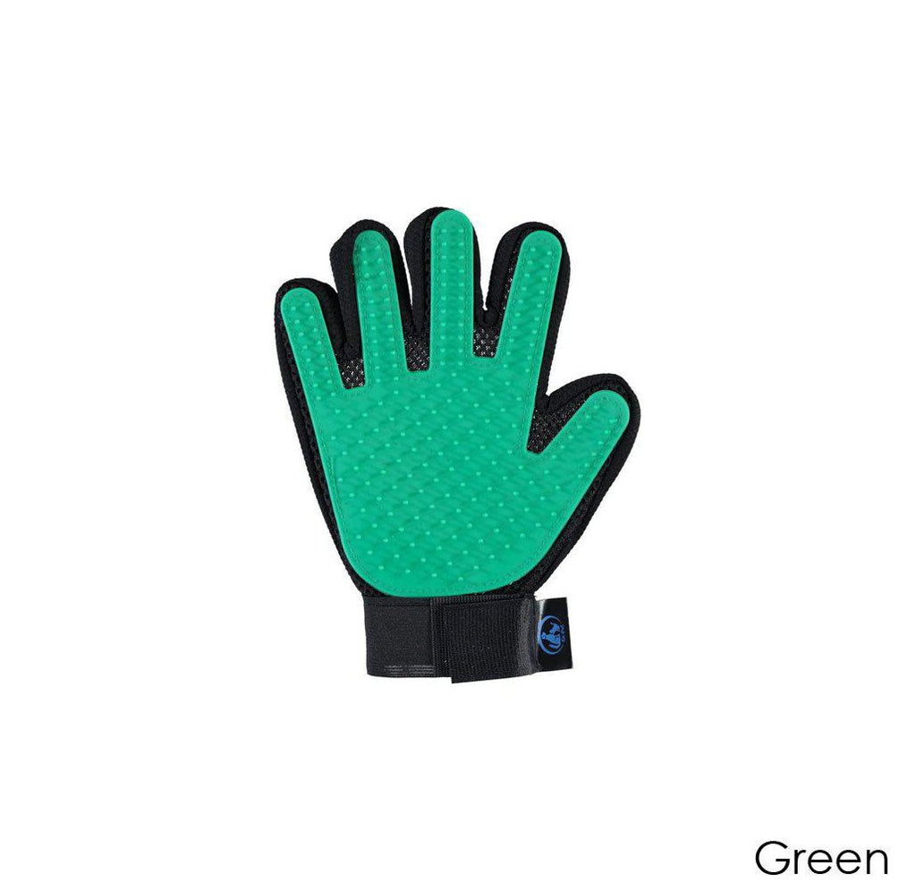 Ez-Pet Grooming Glove (1-Pair)-Green-Daily Steals