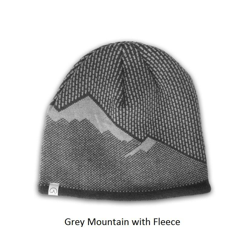 Polar Extreme Thermal Insulated Stocking Beanie Cap-Grey Mountain with Fleece-Daily Steals