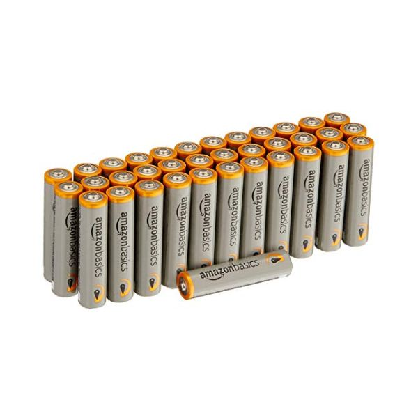 AmazonBasics AA or AAA Performance Alkaline Batteries-AAA - 36 COUNT-Daily Steals