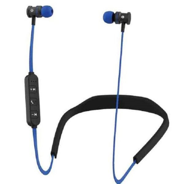 HYPE Active Sport Bluetooth Earbuds-Blue-Daily Steals