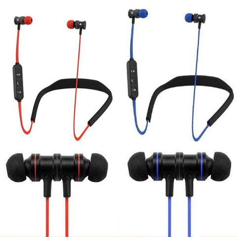Daily Steals-HYPE Active Sport Bluetooth Earbuds-Headphones-Red-