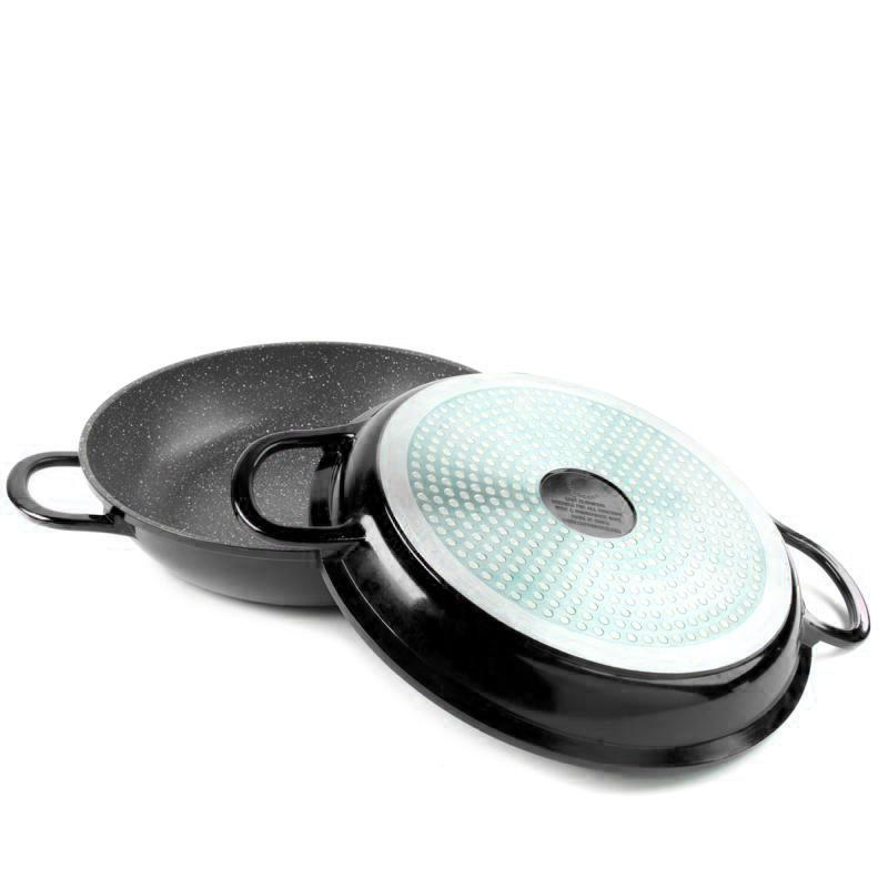 Curtis Stone Dura-Pan Nonstick 4-Quart Multi-Function Pan w/Grill Lid-Daily Steals