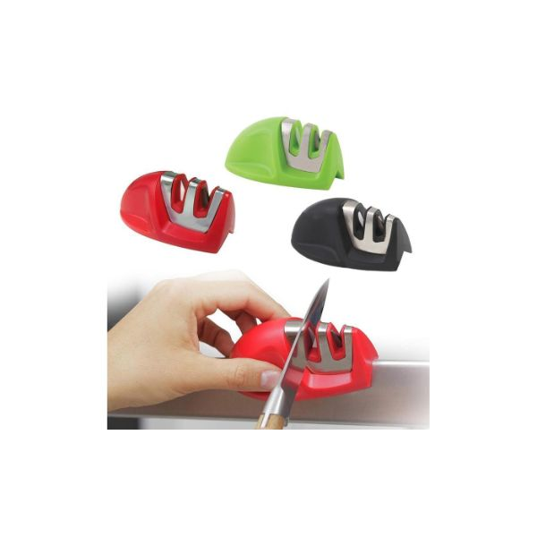 Grip Edge 2-Stage Knife Sharpener- 3 Colors-Daily Steals