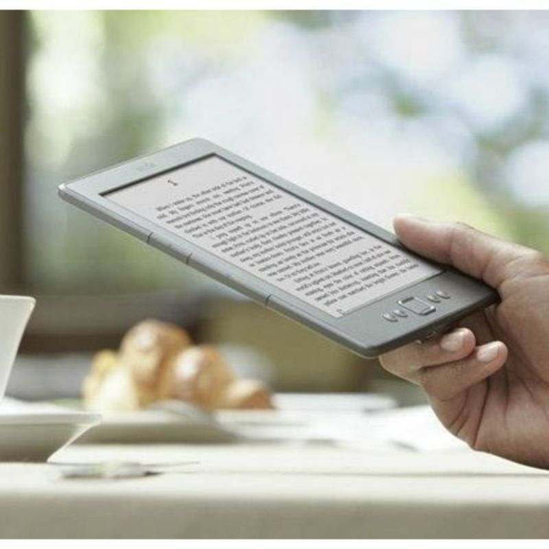 "Kindle, 6"" E Ink Display, Wi-Fi - Includes Special Offers (Graphite)-Daily Steals"