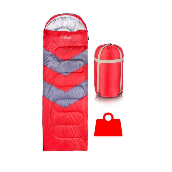 AbcoSport Sleeping Bag-Red-Daily Steals