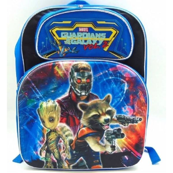 "Boys and Girls Assorted Kids Backpack-Guardians 3D Blue 16""-Daily Steals"
