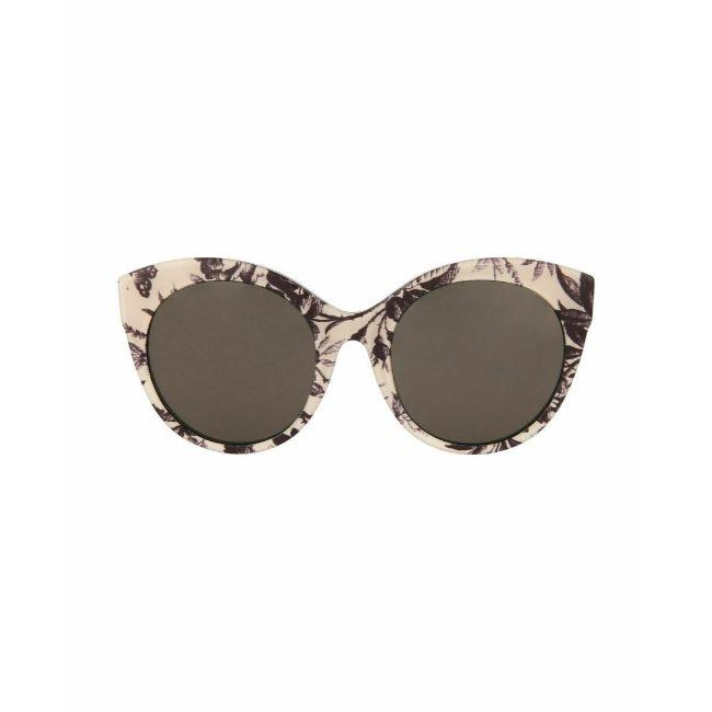 Front- Gucci Floral Women's Sunglasses Cat Eye Grey Gradient Lens