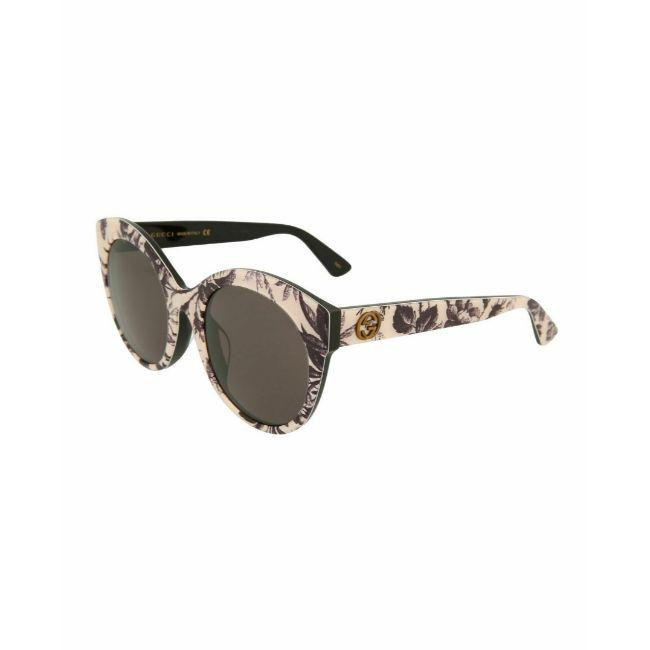Gucci Floral Women's Sunglasses Cat Eye Grey Gradient Lens