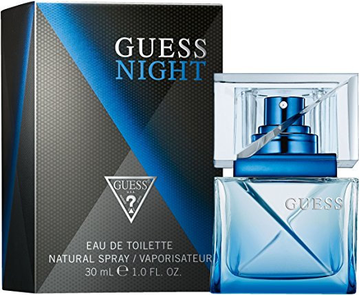 Guess Night Men Eau de Toilette EDT - Paquet de 2 vols quotidiens