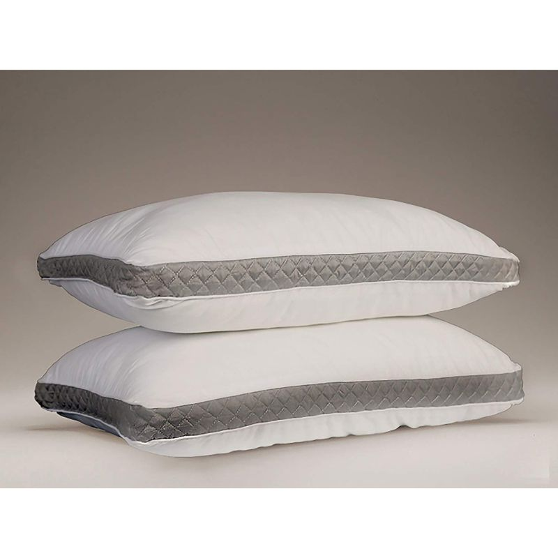 Lux Decor Collection Gusseted Quilted Bed Pillows - 2 Pack-Daily Steals