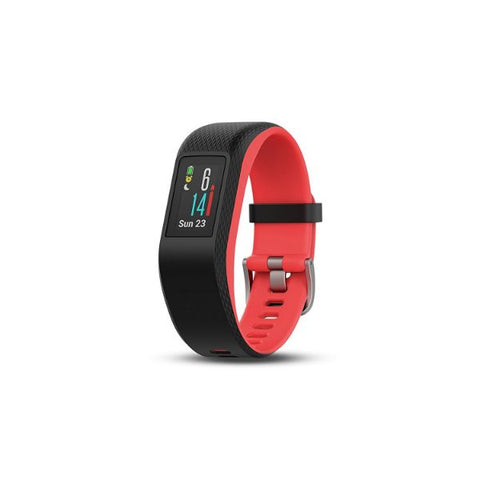 Daily Steals-Garmin Vívosport Activity Fitness Tracker with Heart Rate & GPS-Fitness and Wellness-Fuchsia-S/M-