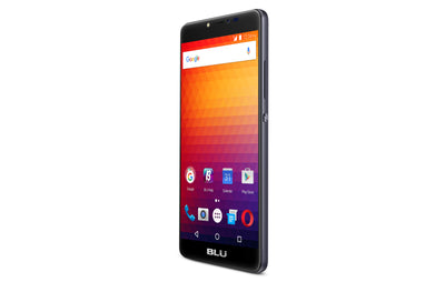 BLU R1 Plus R0051UU 16GB Unlocked GSM LTE Quad-Core Phone w/ 13MP Camera - Black (Certified Refurbished)