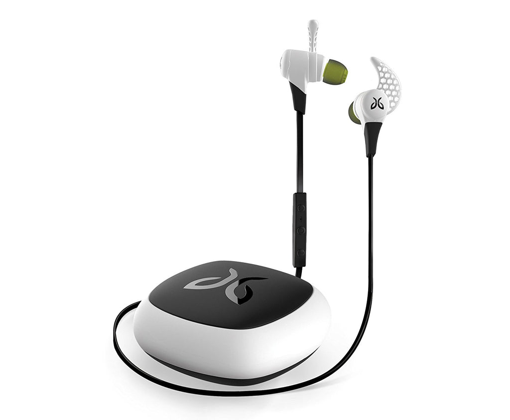 JayBird X2 Sport Wireless Bluetooth Headphones with SignalPlus-Storm White-Daily Steals