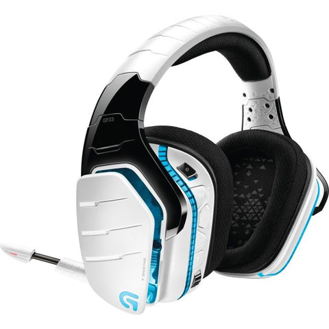 Logitech G933 Artemis Spectrum Wireless 7.1 Surround Sound Gaming Headset-White-Daily Steals