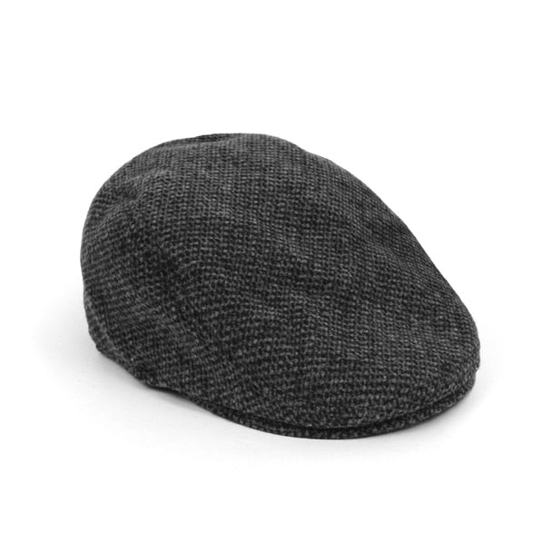Winter Ivy Hat-Black/White-Daily Steals