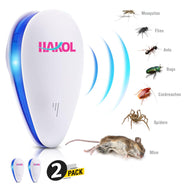 [2-Pack] Premium Ultrasonic Pest Repeller Set-Daily Steals