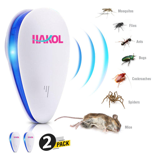 Security & Protection Brilliant Electronic Ultrasonic Mosquito Portable Intelligent Insect Repellent Pest Reject Insect Killer Adjustable And Usb Charging Port Access Control