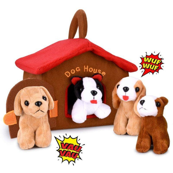 Plush Dog Toy Playset-Daily Steals