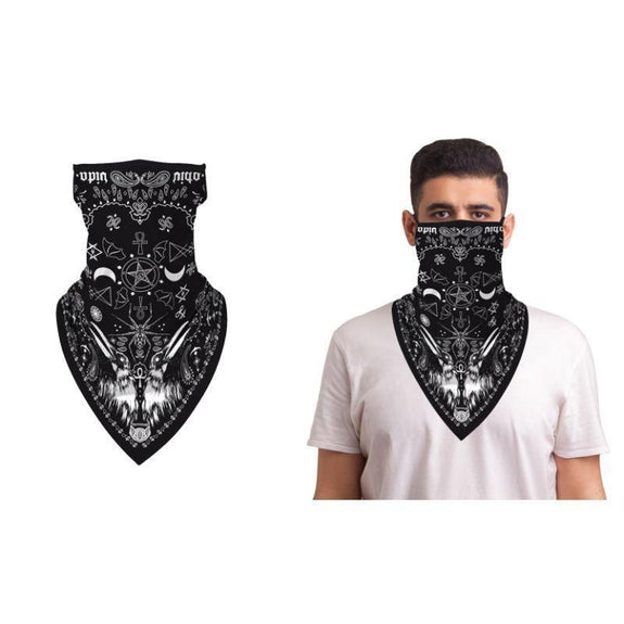 Halloween Balaclava Face Mask Neck Gaiter with Earloop For Men and Women-Incubus-