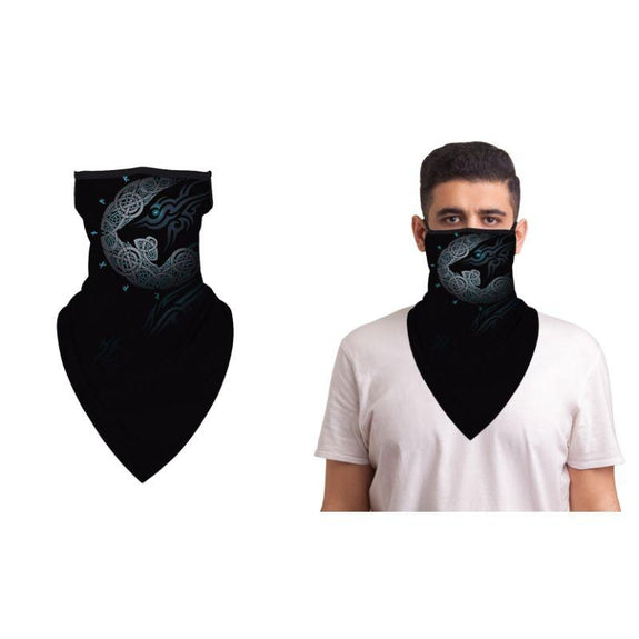 Halloween Balaclava Face Mask Neck Gaiter with Earloop For Men and Women-Hellion-